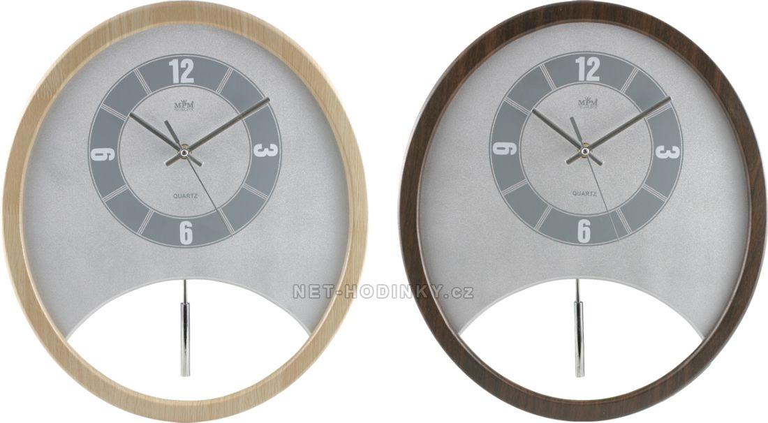 Nástěnné hodiny na stěnu, nástěnné hodiny na zeď dřevěné, kyvadlové hodiny oválné