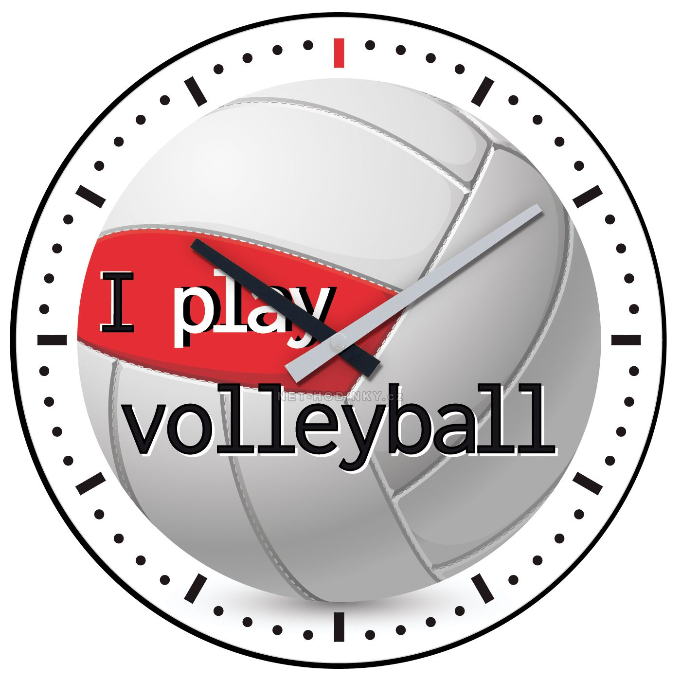 Nástěnné hodiny na stěnu Volleyball, Bowling, Basketbal, Fotbal, Golf nástěnné hodiny na zeď, dětské hodiny H701N Volleyball