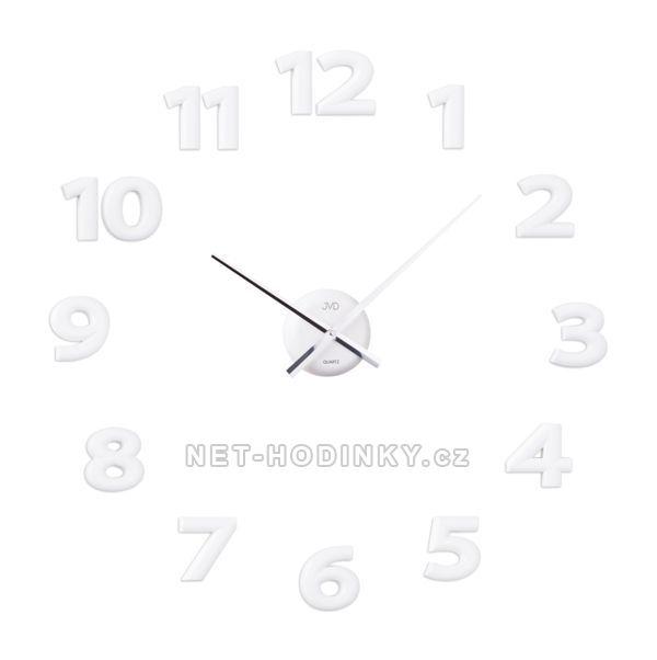 JVD Nástěnné nalepovací hodiny na zeď hb12.2