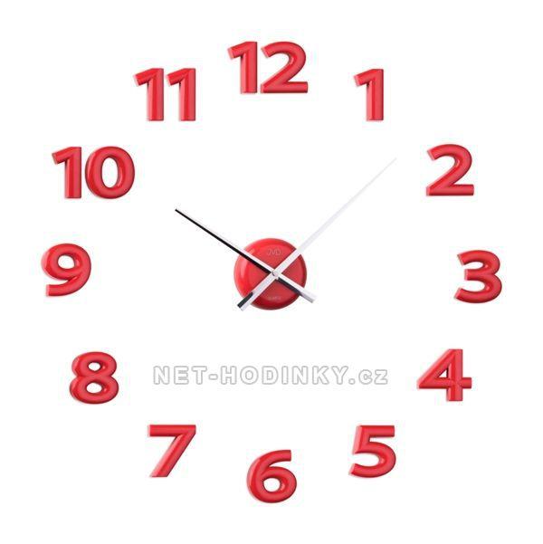 JVD Nástěnné nalepovací hodiny na zeď hb12.3
