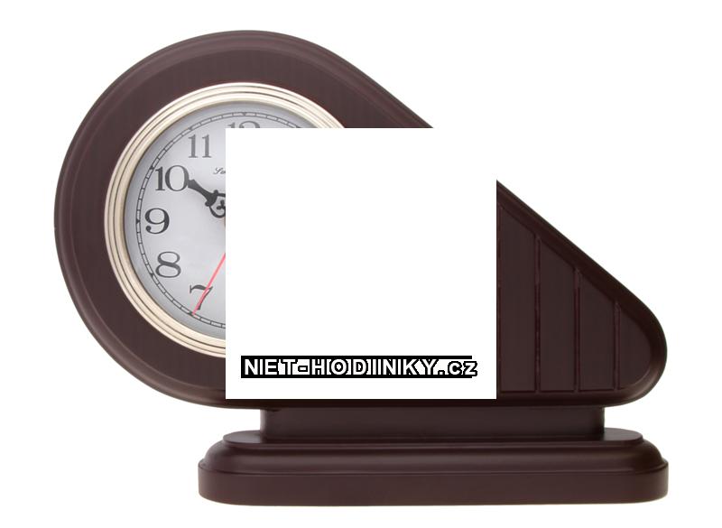 JVD stolní hodiny německé výroby stolní hodiny hnědá