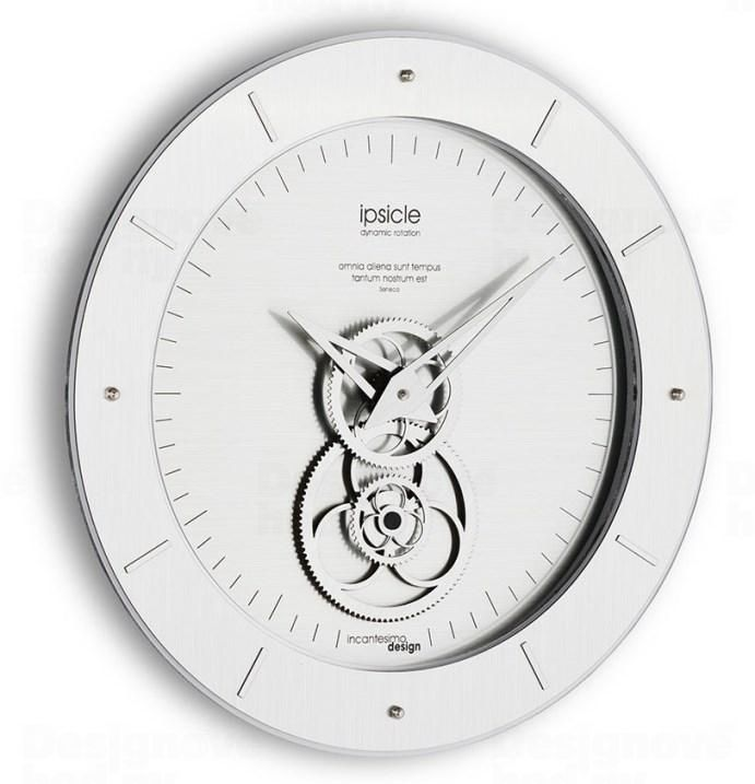 Velké nástěnné hodiny moderní s chronografem IncantesimoDesign I451M