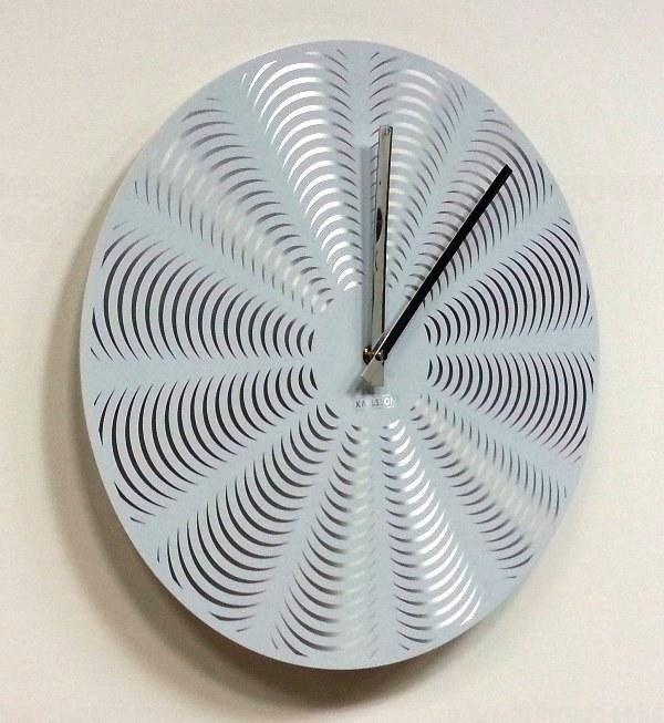 Kovové designové hodiny Karlsson 5151WH