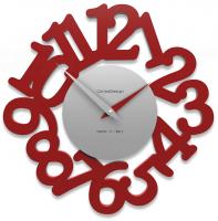 Designové hodiny 10-009 CalleaDesign Mat 33cm (více barevných verzí) Barva béžová (nejsvětlejší)-11 - RAL1013