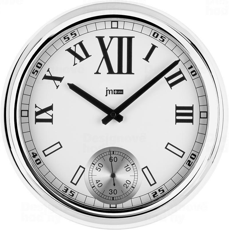 Lowell Italy Nástěnné kovové hodiny Lowell 14948C