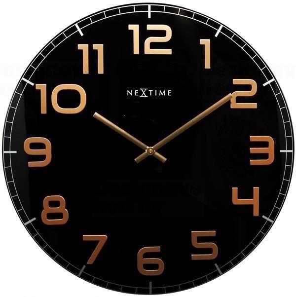 NeXtime Designové nástěnné hodiny 3105bc Nextime Classy Large 50cm