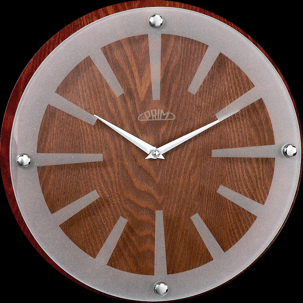 Stanou se nepřehlédnutelným doplňkem interiéru. nbsp Hodiny jsou čistě a  precizně zpracovány ze dřeva a skla. Na skle hodin jso 54 - tmavé dřevo 0b961c522c