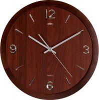 Nástěnné hodiny Dřevěné hodiny PRIM Wood Style zpříjemní každý interiér. Jsou vyrobeny ze dřeva. Na číselníku jsou arabské číslice, které jsou v 3D lesklém provedení. Tyto hodiny mají v Nástěnné hodiny