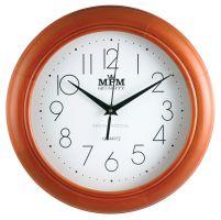 Klasické dřevěné nástěnné hodiny E01.2474