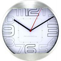 Barevné kovové nástěnné hodiny s originálním ciferníkem E01.2487
