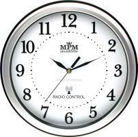 Rádiem řízené nástěnné hodiny E01.2492