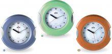 Barevné nástěnné hodiny s bočními stříbrnými prvky E01.2506 | E01.2506, E01.2506, E01.2506