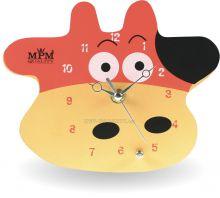 Nástěnné hodiny na stěnu, nástěnné hodiny na zeď s motivem Kravičky  | E01.2518