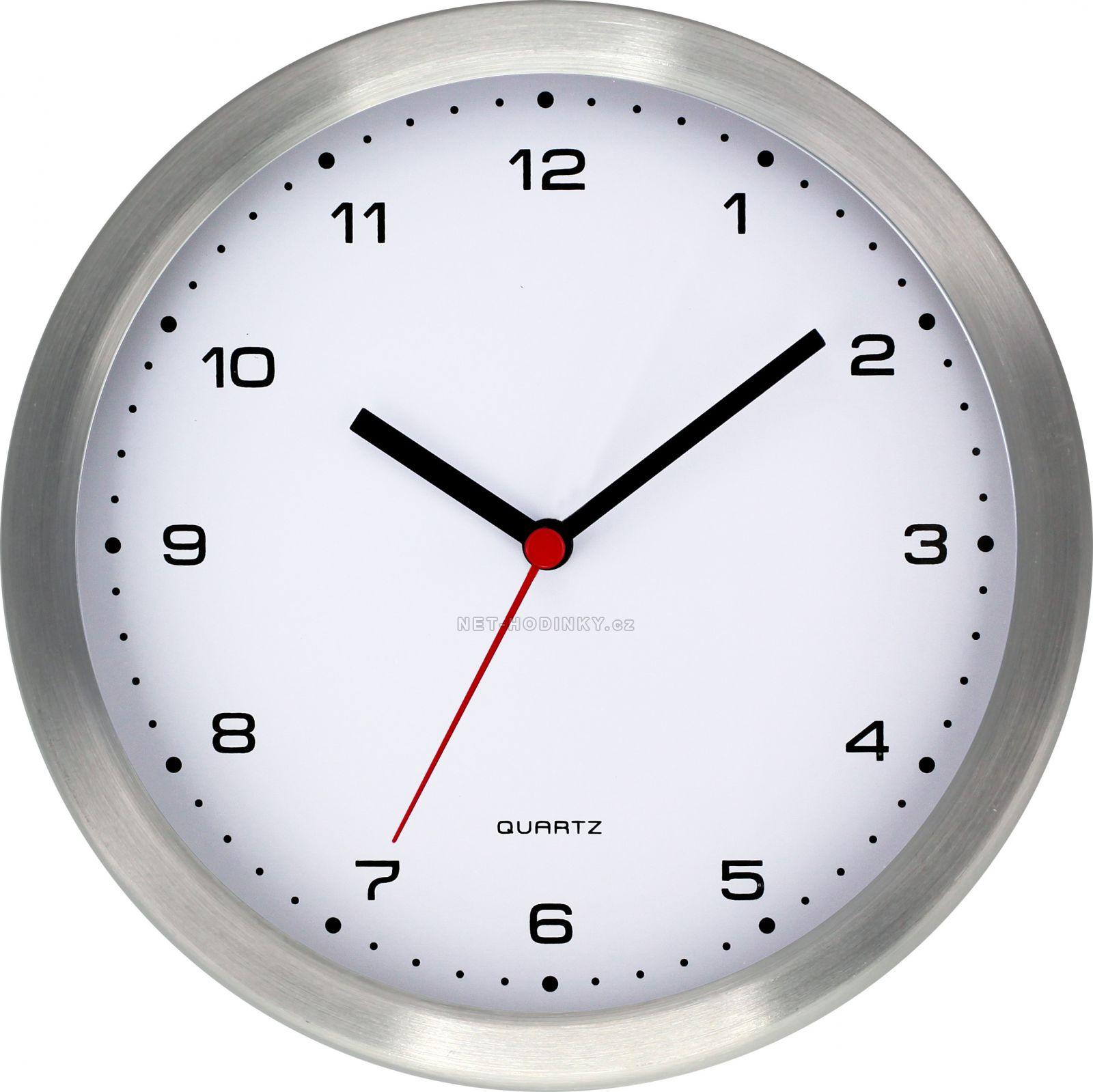 Nástěnné hodiny na stěnu vhodné do školy, výrobní haly, čekárny, hotelu, tělocvičny, posilovny, laboratoře, wellness centra, ale i do domácnosti