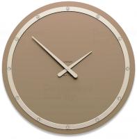 Designové hodiny 10-211 CalleaDesign Tiffany Swarovski 60cm (více barevných verzí) Barva broskvová světlá-22