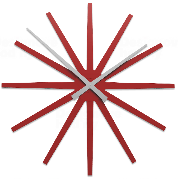 Designové hodiny 10-327 CalleaDesign Frizz 81cm (více barevných verzí) Barva růžová lastura (nejsvětlejší)-31