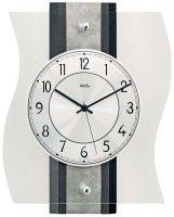 Nástěnné hodiny ams 5538 rádiem řízený čas hranaté hodiny