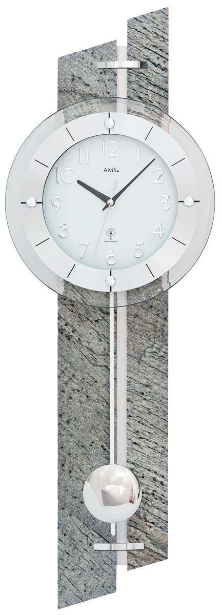 kyvadlové rádiem řízené hodiny ams 5306