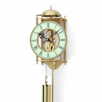 Originální mechanické kyvadlové kovové hodiny AMS 303