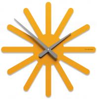 Designové hodiny 10-116 CalleaDesign Asterix 45cm (více barevných verzí) Barva broskvová světlá-22