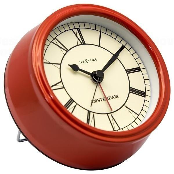 NeXtime Designové stolní hodiny 5199ro Nextime Small Amsterdam 11cm