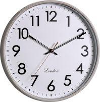 Klasické nástěnné hodiny s plynulým tichým chodem..01508
