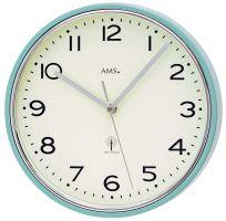 Nástěnné hodiny bateriové kulaté ams 5508