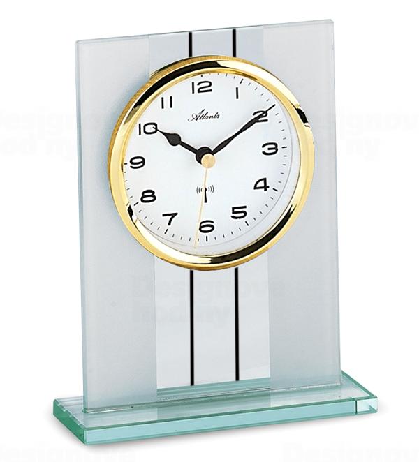 Atlanta Designové stolní hodiny AT3093-9 řízené signálem DCF
