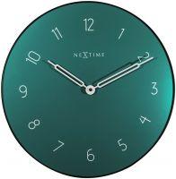 Designové nástěnné hodiny 8193gn Nextime Carousel 40cm