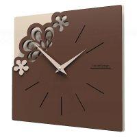 Designové hodiny 56-10-1 CalleaDesign Merletto Small 30cm (více barevných verzí) Barva vanilka-21