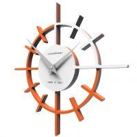 Designové hodiny 10-018 CalleaDesign Crosshair 29cm (více barevných verzí) Barva grafitová (tmavě šedá)-3 - RAL9007