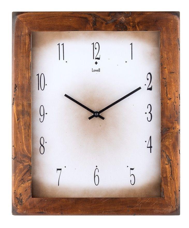 Nástěnné hodiny Designové nástěnné hodiny 03500E Lowell 35cm Lowell Italy Nástěnné hodiny
