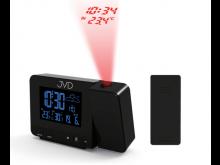 Rádiem řízený budík s projektorem JVD RB3531.1