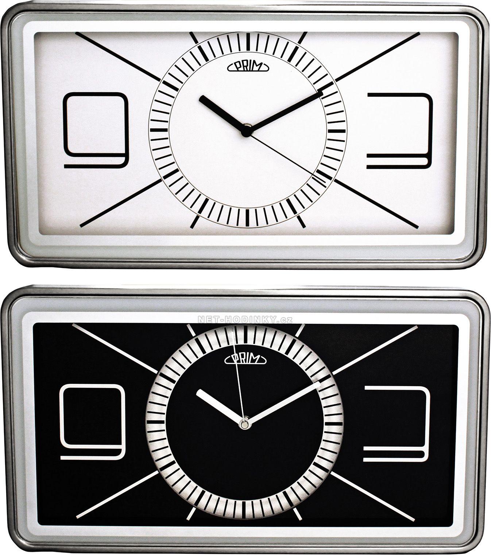 Kovové nástěnné hodiny PRIM