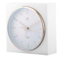 Nástěnné hodiny Stolní hodiny s funkci budíku JA7070B Lowell 16cm Lowell Italy Nástěnné hodiny