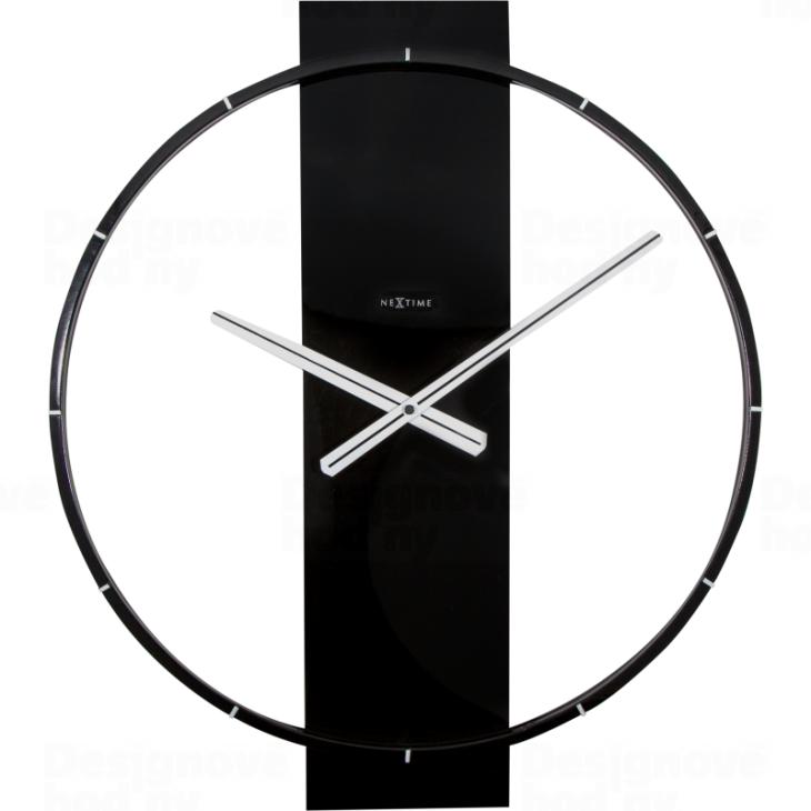 NeXtime Velké designové hodiny nástěnné Nextime Carl 3195zw