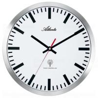 Designové nástěnné hodiny AT4371-B řízené signálem DCF 30cm