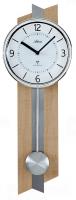 Kyvadlové nástěnné hodiny AT5101 řízené rádiovým signálem 55cm