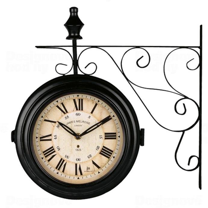 Lowell Italy Oboustranné nástěnné hodiny Lowell 14754 závěsné