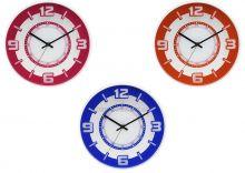 Netradiční jednobarevné nástěnné hodiny E01.3220