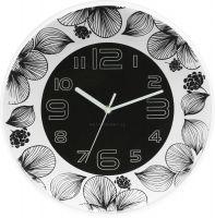 Krásné hodiny v různých barevných kombinacích s květinovým dekorem E01.3227