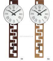 Moderní dřevěné hodiny s kyvadlem a římskými číslicemi E05.3186