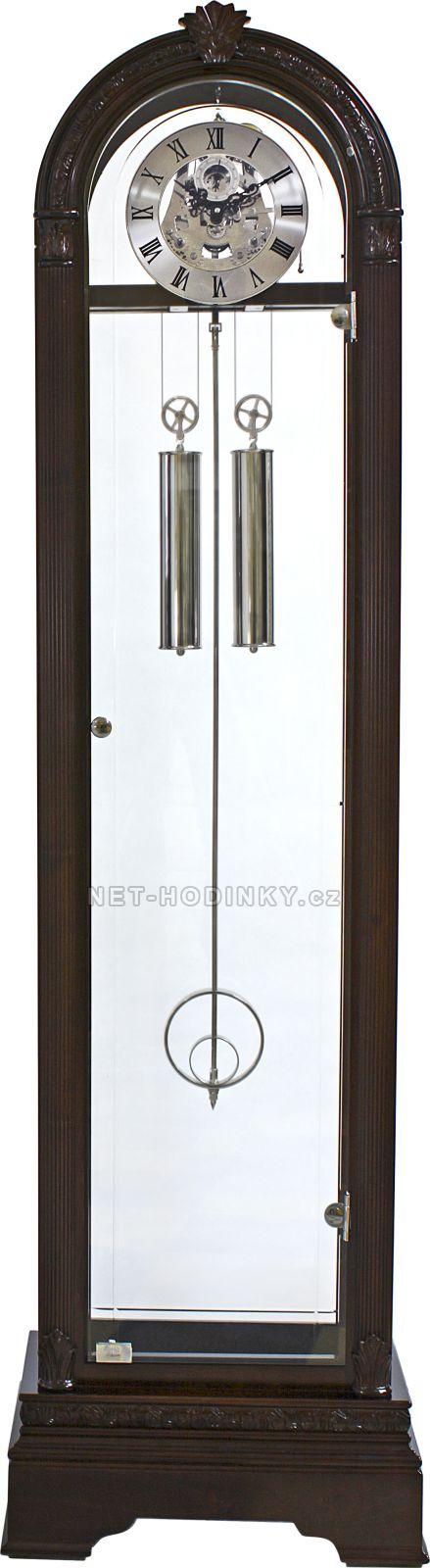Podlahové hodiny Prim mechanické E08P.3183.01012 54 - tmavé dřevo