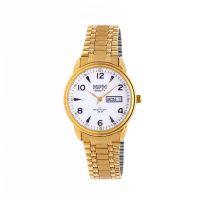Klasické kovové hodinky s ukazatelem data..01583