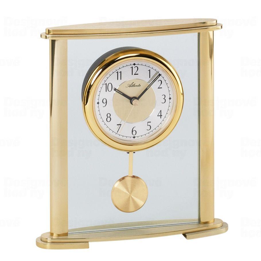 """stolní hodiny s kyvadlem barva """"zlatá"""" Atlanta"""