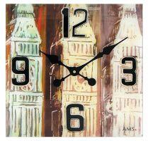 Nástěnné hodiny AMS 9489