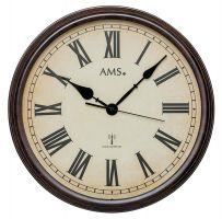 Nástěnné hodiny AMS 5977 rádiem řízené
