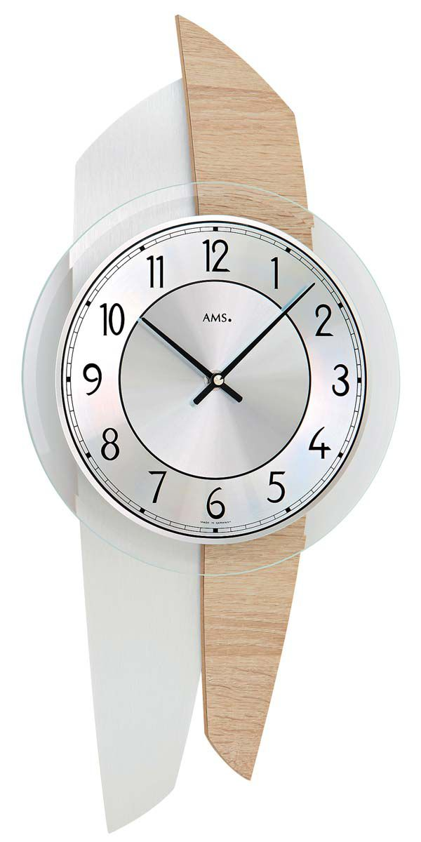 AMS Nástěnné hodiny na stěnu, nástěnné hodiny na zeď
