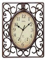 Nástěnné hodiny AMS 5976 rádiem řízené
