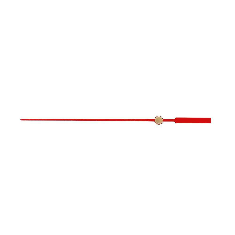 vteřinová kovová ručička červená